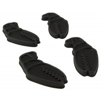 Crab Grab Mini Claws Snowboard Traction Pad Black - 4 Pack