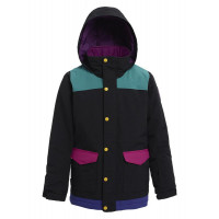 Burton Girls Elstar Jacket True Black Multi