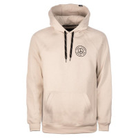 Planks Peace Mens Hoodie Bone