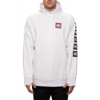 686 Men's Bonded Fleece Pullover Hoody White