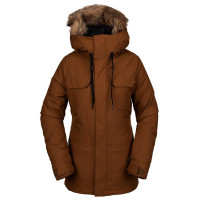 Volcom Shadow Insulated Women's Jacket Copper