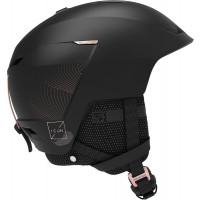 Salomon Icon LT Custom Air Womens Ski + Snowboard Helmet Black
