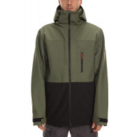 686 Mens Smarty Phase 3 in 1 Softshell Jacket Surplus Green Colorblock 2020