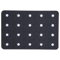 Crab Grab Holey Sheet Snowboard Traction Pad Black/White