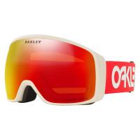Oakley Flight Tracker XL Goggles Factory Pilot Viper Red Grey-Prizm Snow Torch Lens