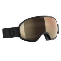 Scott Unlimited II OTG LS Goggles Black - Light Sensitive Bronze Chrome Lens
