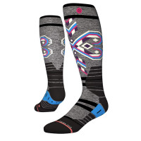Stance Nordic Maze Womens Snow Socks Grey