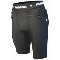 Demon SKIN Mens Impact Shorts Black