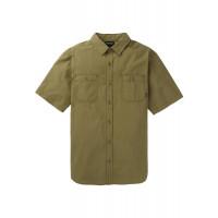 Burton Men's Ridge SS Shirt Martini Olive Martini Olive