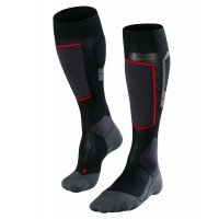Falke SK4 Merino Wool Womens Ski Socks Black-Mix