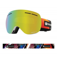 Dragon X1s Goggles Hot Duck - Lumalens Gold Ion + Lumalens Yellow 2021