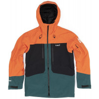 Planks Tracker Insulated Mens Jacket Lifeboat Orange