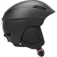 Salomon Icon2 C.Air Ski + Snowboard Helmet Black
