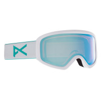 Anon Insight Womens Goggles White - Perceive Variable Blue + Amber Spare Lens