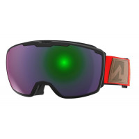 Marker Perspective+ Goggles Black/Red - Green Plasma Mirror + Clarity Mirror Lens