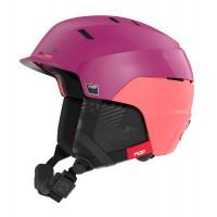Marker Phoenix MAP Womens Ski + Snowboard Helmet Berry/Pink