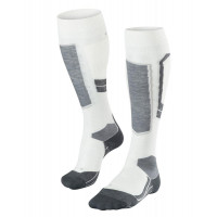 Falke SK4 Merino Wool Womens Ski Socks Off-White