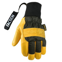 Faction x Wells Lamont Collab Leather Gloves Yellow