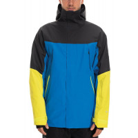 686 Mens GLCR Gore Zone Therma Jacket Strata Blue Colorblock 2020