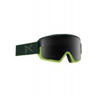 Anon M3 MFI Goggles Green - Sonar Smoke + Spare Lens 2020