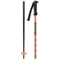 K2 Power Aluminium Ski Poles Orange