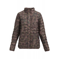 Burton Womens Evergreen Down Collar Jacket Moss Camo / Floral Camo