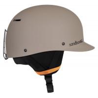 Sandbox Classic 2.0 Ski + Snowboard Helmet Dune Matte