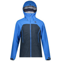 Scott Explorair 3L Men's Shell Jacket Skydive Blue/Dark Blue