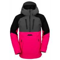 Volcom Brighton Pullover Men's Jacket Magenta