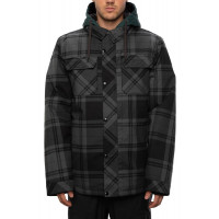 686 Men's Woodland Insulated Jacket Dark Spruce Plaid