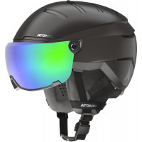 Atomic Savor GT AMID Visor HD Ski + Snowboard Helmet Black