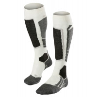 Falke SK2 Womens Ski Socks Off White
