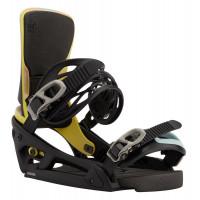 Burton Cartel X EST Mens Snowboard Bindings Black/Multi 2021