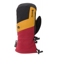 686 Men's GORE-TEX Linear Mitts Oxblood Colorblock