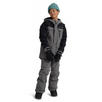 Burton Covert Boys Jacket Bog Heather/True Black