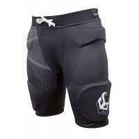 Demon Flex-Force Pro Womens Impact Shorts V2 Black