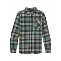 Burton Women's Grace Flannel Shirt Phantom Somerset Plaid
