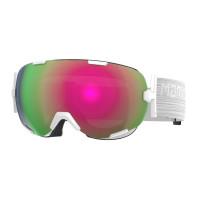 Marker Projector+ Goggles Snowwhite - Pink Plasma Mirror + Clarity Mirror Lens