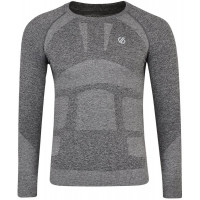 Dare 2b Mens In The Zone LS Baselayer Top Charcoal Grey Marl
