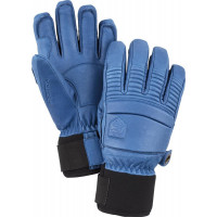 Hestra Leather Fall Line Gloves Blue