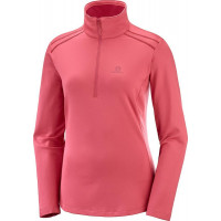 Salomon Discovery LT HZ Womens Midlayer Garnet Rose