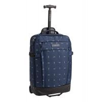 Burton Multipath 40L Carry-On Travel Bag Dress Blue Basket Ikat