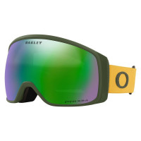 Oakley Flight Tracker XM Goggles Dark Brush Mustard Yellow-Prizm Snow Jade Lens