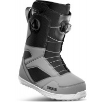 Thirtytwo STW Double BOA Mens Snowboard Boots Grey/Black 2021