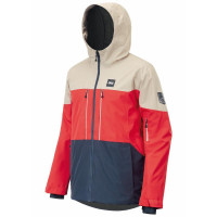 Picture Object Men's Jacket Red/Dark Blue