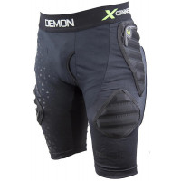 Demon Flex-Force X Mens Impact Shorts D3O V3 Black