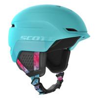 Scott Chase 2 Womens Ski + Snowboard Helmet Cyan Blue/Pink