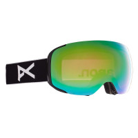 Anon M2 Goggles Black - Perceive Variable Green + Cloudy Pink Spare Lens