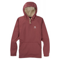 Burton Womens Crown Weatherproof PO Fleece Hoodie Rose Brown