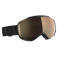 Scott Faze II LS Goggles Black - Light Sensitive Bronze Chrome Lens